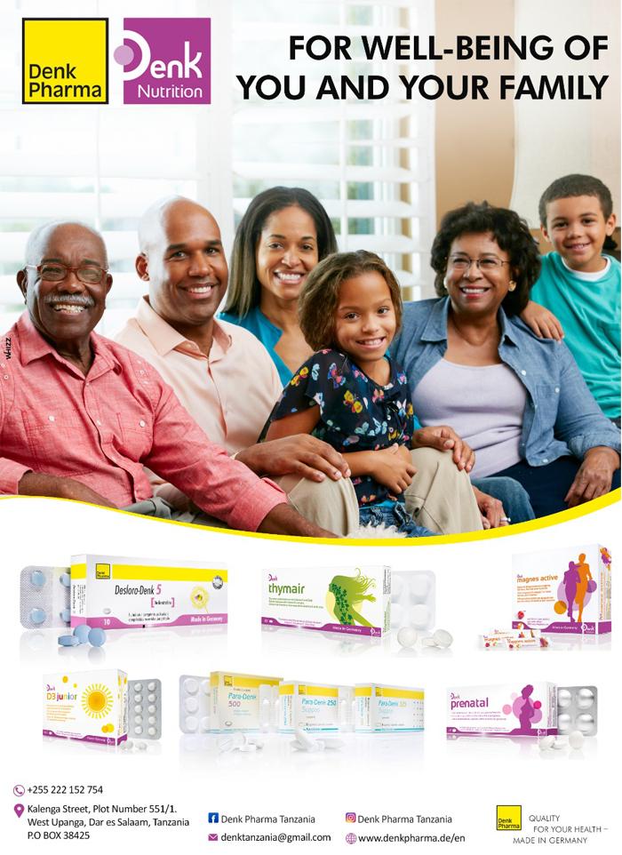 Denk Pharma in Dar es salaam - Tanzania – WhizzTanzania