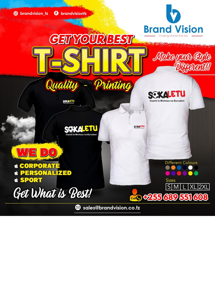 Brand Vision in Dar es salaam - Tanzania – WhizzTanzania