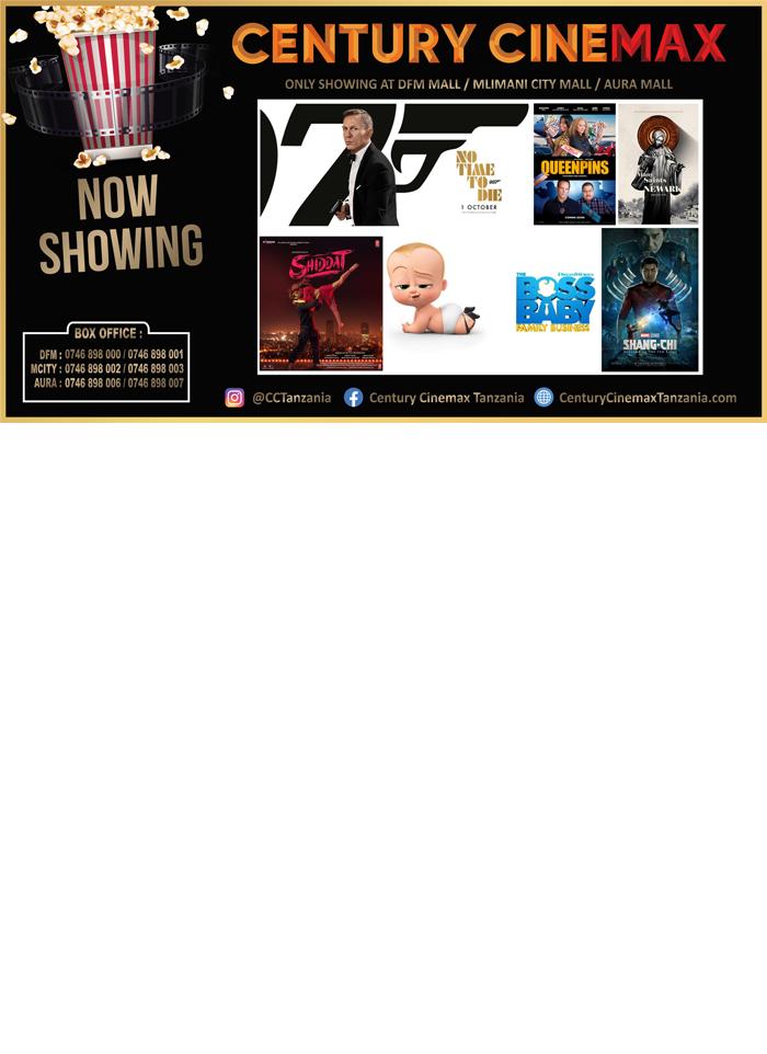 Century Cinemax in Dar es salaam - Tanzania – WhizzTanzania